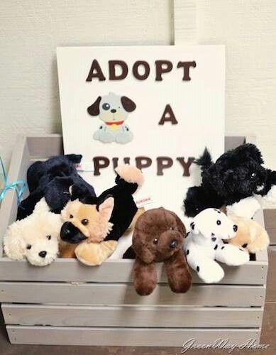 Adopta a un perrito
