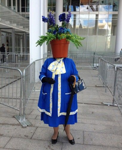 WHAT TO WEAR TO THE OLYMPICS #4.. and if you're absolutely raving mad, is this spectator seemingly is..