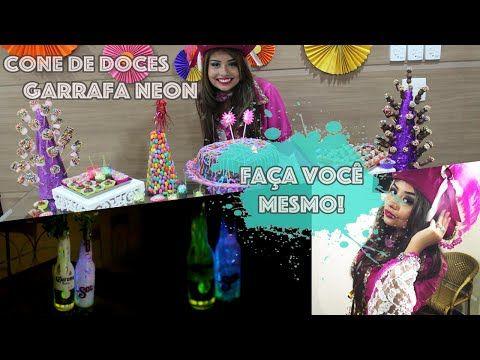 Faça você mesmo - Decoração festas : Circulo Sanfonado! - YouTube