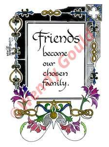 Friendship quotes | Friendship sayings | Friendship Calligraphy ...