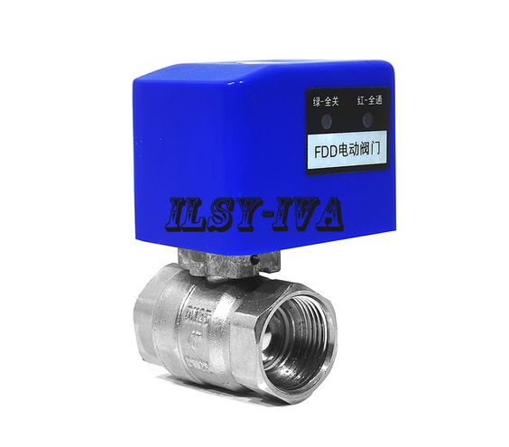 Fdd 1 Type Dn25 Brass Motorized Ball Valve 2 Way Motorized Ball Valve Cr03 Cr04 Hardware Clock Plumbing