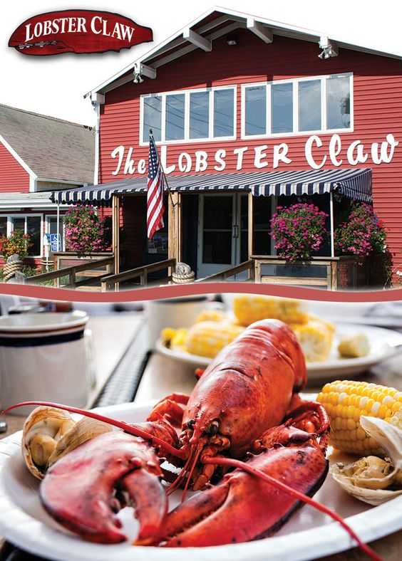 The Lobster Claw Restaurant is a cheerful, unpretentious and immaculate destination to take the family for fresh seafood. Begin your meal with a raw bar treat of oysters on the half shell or native cherrystones or a heaping bowl of steamed mussels or clams. Continue your seafood love affair with boiled and baked stuffed lobsters, scallops, calamari, and clams. Enjoy a full menu of steaks and chicken, sandwiches and salads.