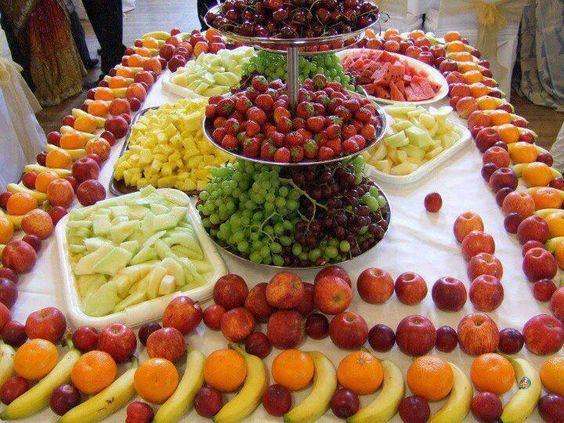 Decoraccion con frutas