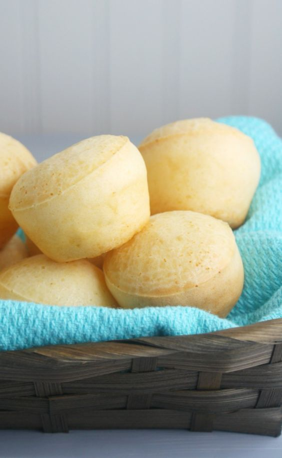 Warm and airy Brazilian Cheese Bread just like you get in ...