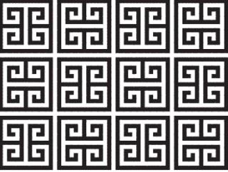 Greek Keyline - classic design motif