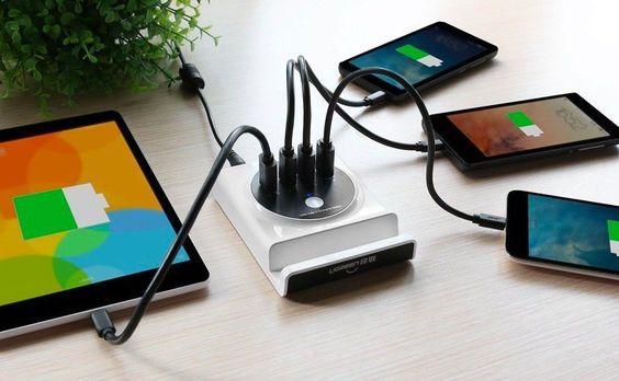 ¿Quién quiere una estación de carga USB con OTG por unos 15 euros?
