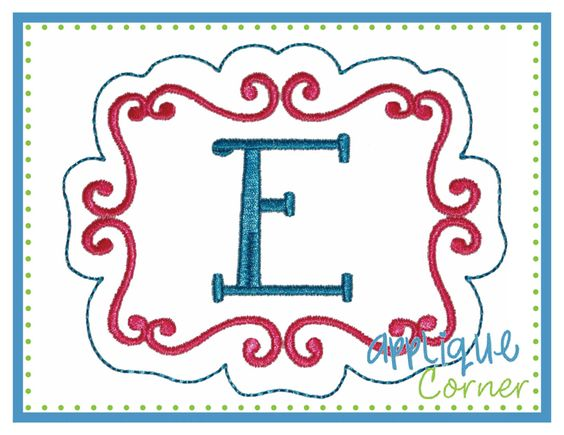 Embroidery Frame 2 Design