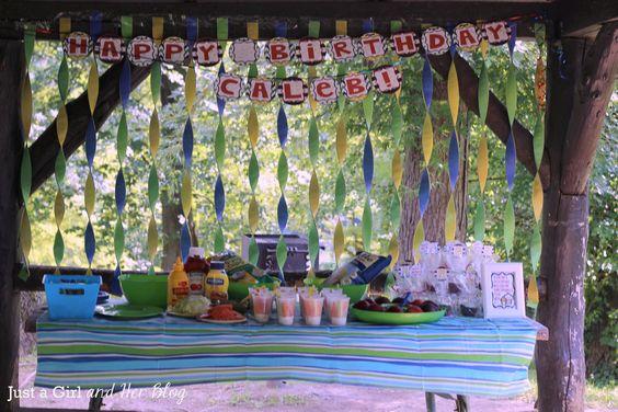 1000 ideas about park party decorations on pinterest for Amusement park decoration ideas
