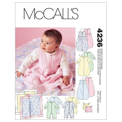 Sleep Sack Pattern Mccall S M4236 Sewing Projects