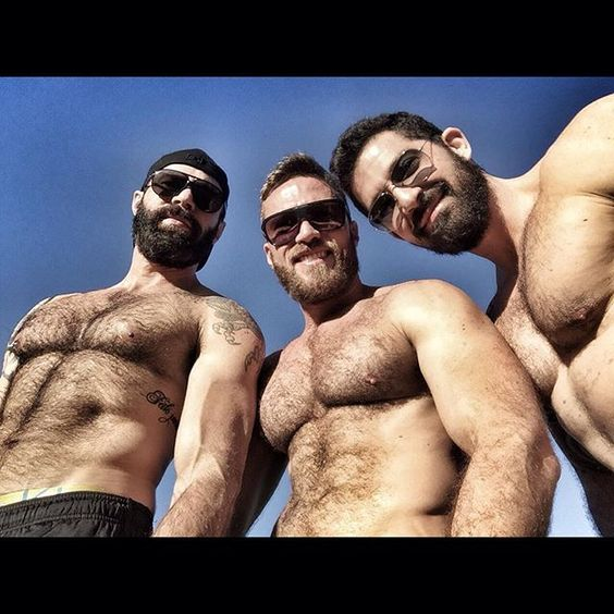 Fur on Muscle — What I wouldn't give to be hanging out with these...