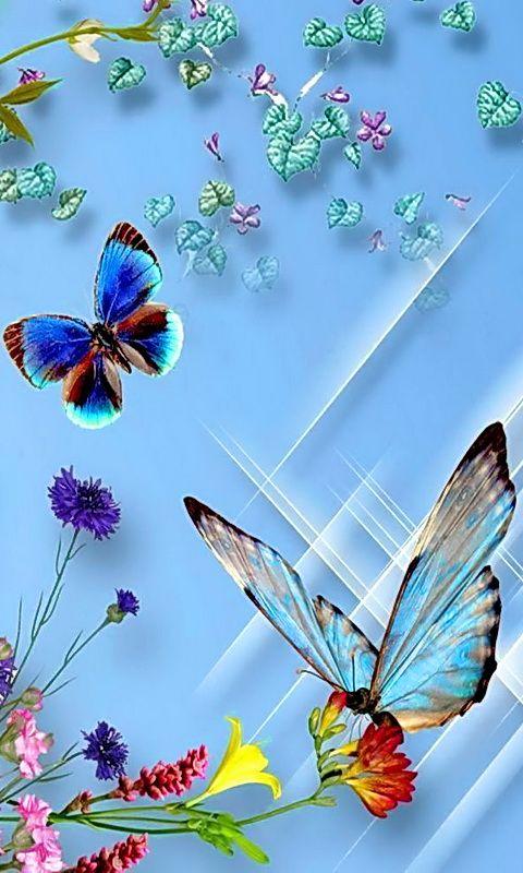 Download butterflies 480 X 800 Wallpapers | mobile9: