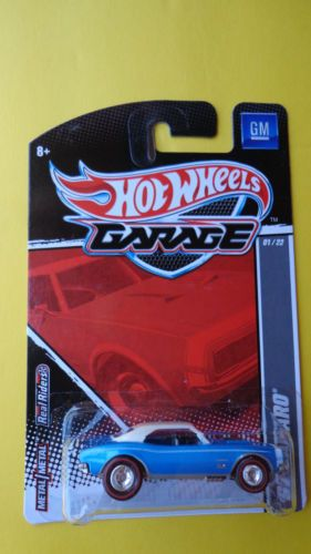 Hot Wheels 2010 Garage 67 Camaro !! Real Riders Very Hard To Find