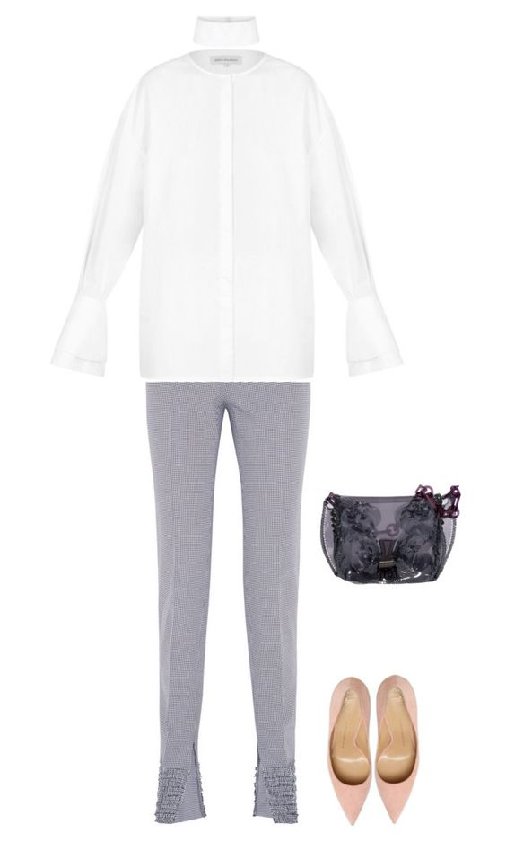 """Untitled #2205"" by nava16 ❤ liked on Polyvore featuring Cédric Charlier and Gwen Salakaia"