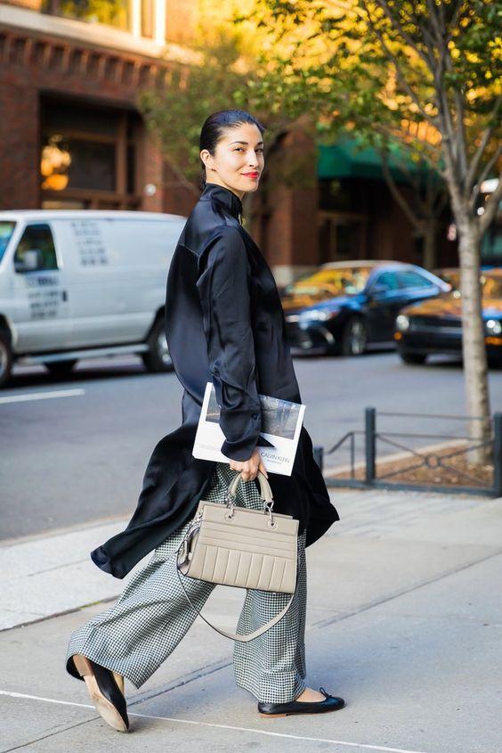 Day 1   Street Style New York Fashion Week Spring 2018   POPSUGAR Fashion Photo 1
