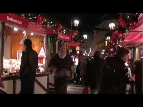 Saarbrücken: O Mercado de Natal com Papai Noel Voador