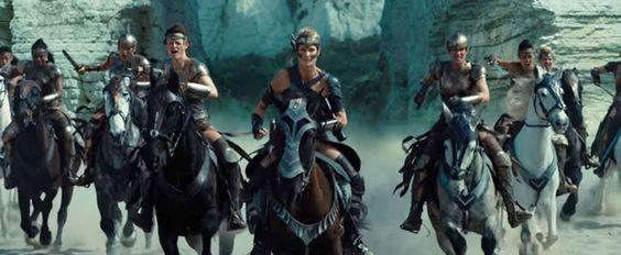 Wonder Woman- Película- Amazonas