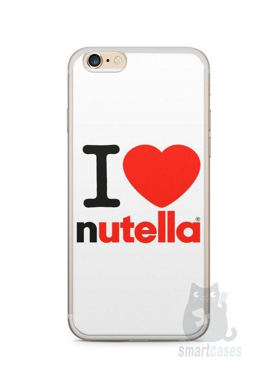 Capa Iphone 6/S Plus I Love Nutella - SmartCases - Acessórios para celulares e tablets :)