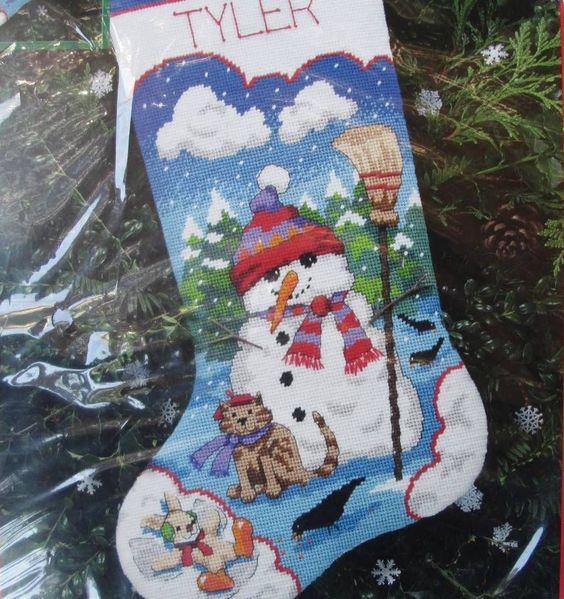 Marvelous Needlepoint Kits Needlepoint And Christmas Stockings On Pinterest Easy Diy Christmas Decorations Tissureus