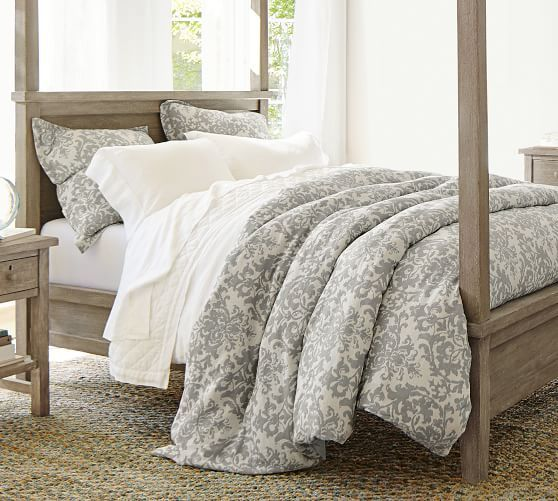 Jacquard Medallion Cotton Linen Duvet Cover Duvet Cover Master Bedroom Bed Linens Luxury Duvet Bedding