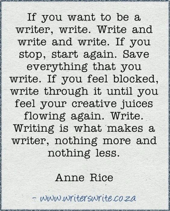 Is it bad that I hate writing (I want to be an author someday)?
