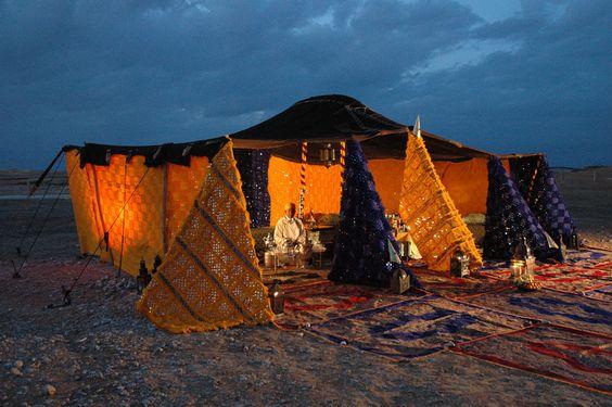 La noche al calor de nuestra Jaima!