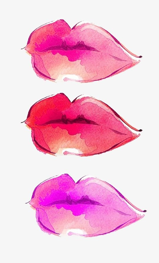 Watercolor Lips Lips Clipart Lip Color Rose Png Transparent Clipart Image And Psd File For Free Download Watercolor Illustration Pink Art Watercolor