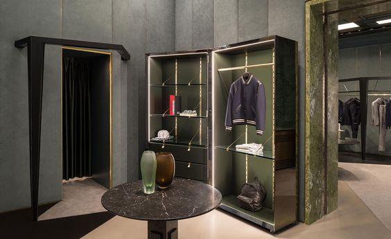 Dimore studio weave their magic on an art deco inspired boutique in turin studio design design art and art deco