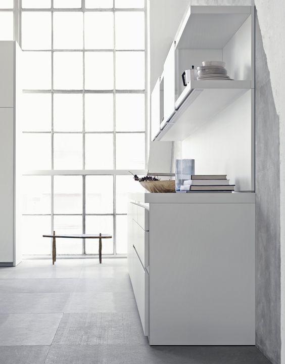 Aufgrund ihrer skulpturalen Erscheinung können Sie die bulthaup b1 - bulthaup küchen münchen