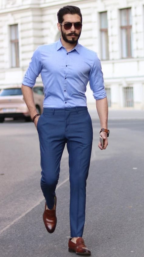 5 Best Shirt And Pant Combinations For Men Formal Men Outfit Business Casual Men Formal Mens Fashion