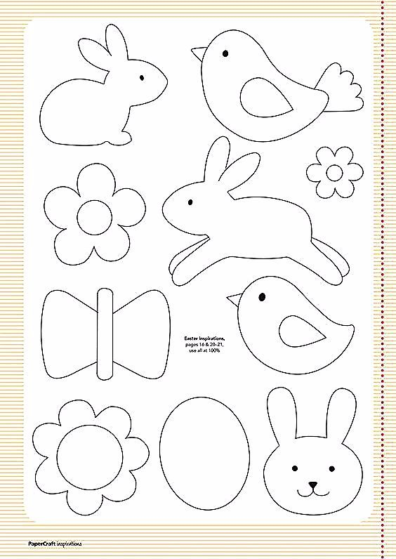 Hase Vorlage A Pinterest Collection Hase Vorlage Vorlage Kinder Vorlage Pinterest Hase Vorlage Vorlagen In 2020 Easter Clipart Applique Templates Paper Crafts