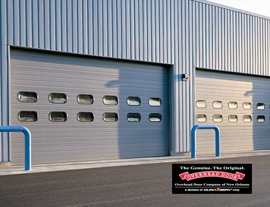 Overhead Door Model 422 Insulated Steel Sectional Door In 2020 Sectional Door Overhead Door Overhead Door Company