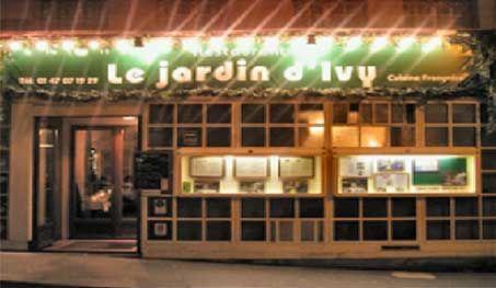 Photo exterieur du restaurant le jardin d'ivy