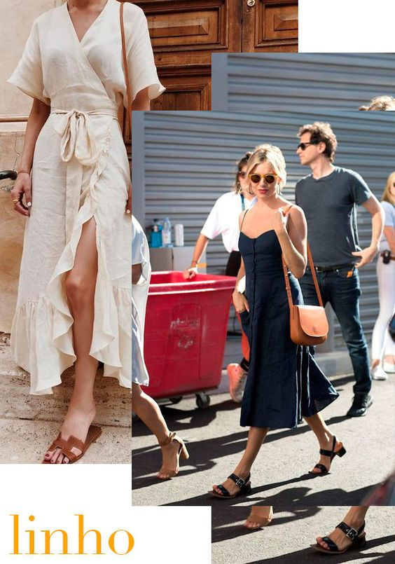 moda tendência linho