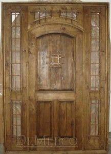 Puerta San Juan - PUE-2355 - Transom Door with speak easy