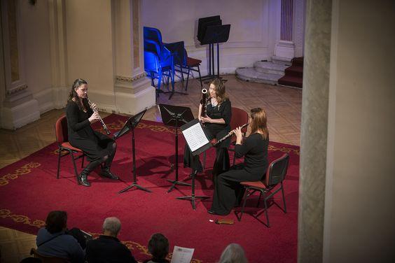 El martes 6 de agosto presentamos a Maderas Filarmónicas, conjunto formado por músicos de la Orquesta Filarmónica de Santiago. Foto: Patricio Melo