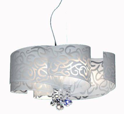 Contemporanea lampadario ventaglio 1: amazon.it: casa e cucina 394 ...