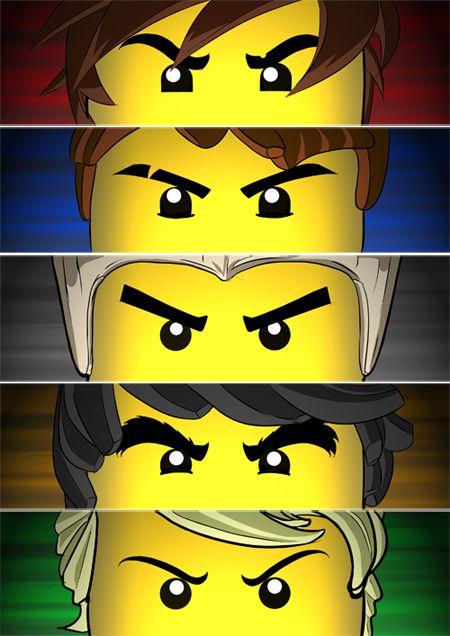 What would cole from ninjago look like in real life - Ninjago kai jay zane cole lloyd ...