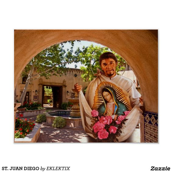 ST. JUAN DIEGO POSTER