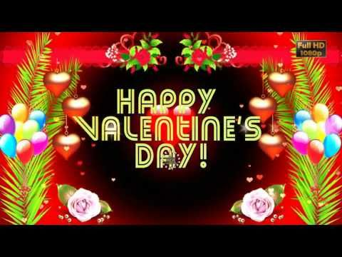Happy Valentines Day 2018 Wishes Whatsapp Video Valentine S Day Greetings Animation Message Download In 2020 Happy Valentines Day Valentines Day Wishes Happy Valentine