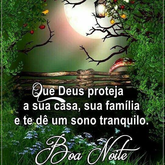 Amem Boa Noite E Fiquem Com Deus Boanoite Deusteabencoe