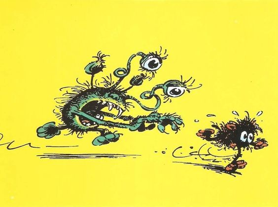 Monsters by André Franquin