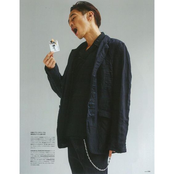 窪塚洋介のジャケット