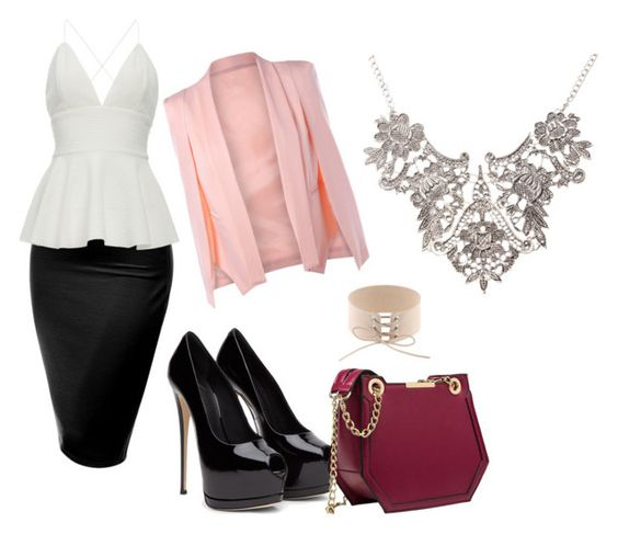 """""""sexy outfit"""" by fany-3 on Polyvore featuring moda y J.TOMSON:"""