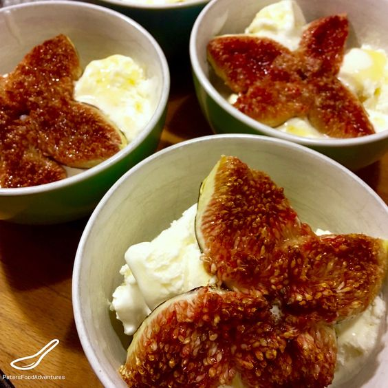 Caramelized Figs Baked with Honey (Запеченный Инжир ...