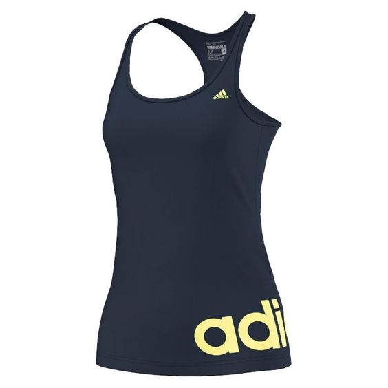 adidas Lauftop Essentials Linear Tank | Laufshirts | Damen | 21run.com  #adidas #laufen #running #top