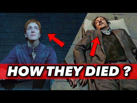 How Did These Harry Potter Characters Die Remus Lupin Peter Pettigrew Gellert Grindelwald Youtube In 2021 Harry Potter Characters Peter Pettigrew Remus
