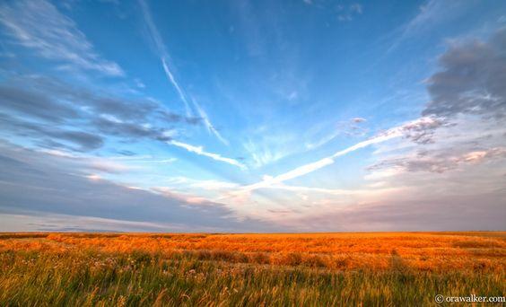 Magnificent Manitoba sunset
