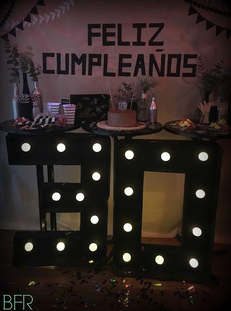 C mo decorar una fiesta de cumplea os sorpresa para 30 - Como decorar una pared ...