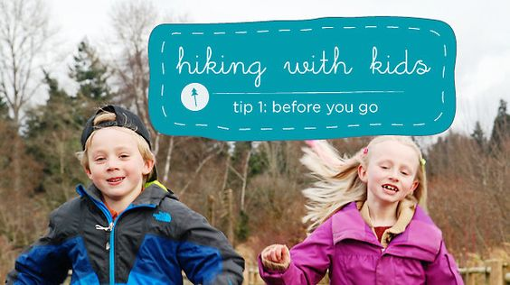 Hiking with Kids Tip 1