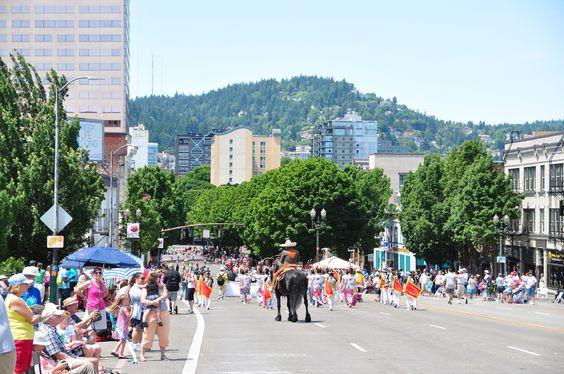 2015 #Portland Rose Festival  Glimpses of Grand floral Parade through my Camera :)  #picoftheday